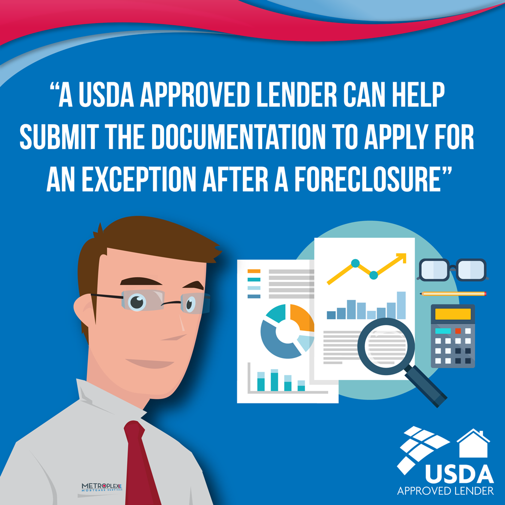 USDA loan foreclosures application