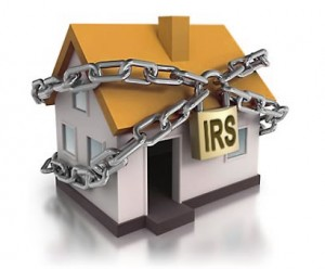 USDA loan with an IRS tax lien