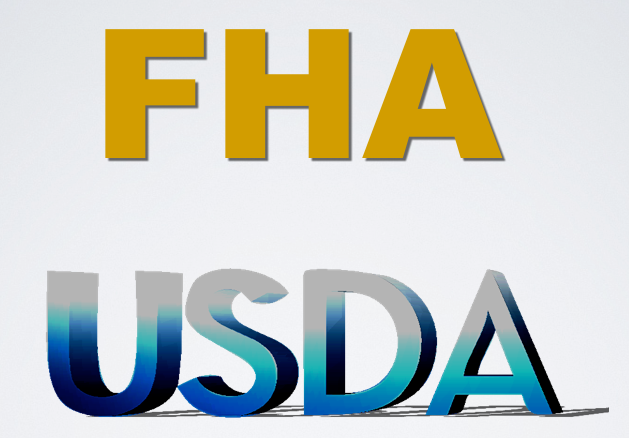 What are USDA and FHA distance requirements for well and