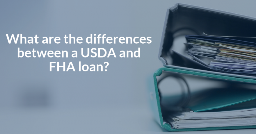 What are the differences between a USDA and FHA loan in Florida?