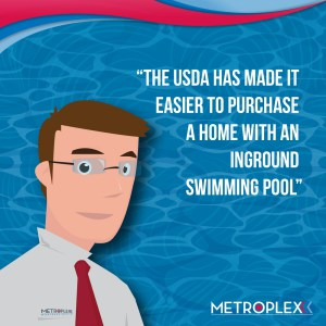 Do usda loans allow swimming pools usda loan pro for Usda approved builders