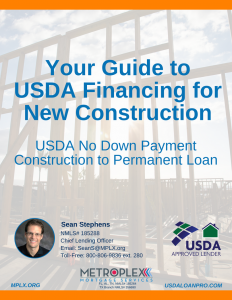 Florida USDA New Construction Loans with No Down Payment