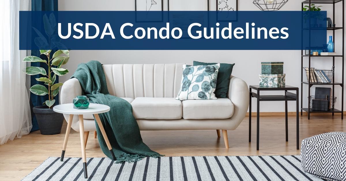usda condo guidelines