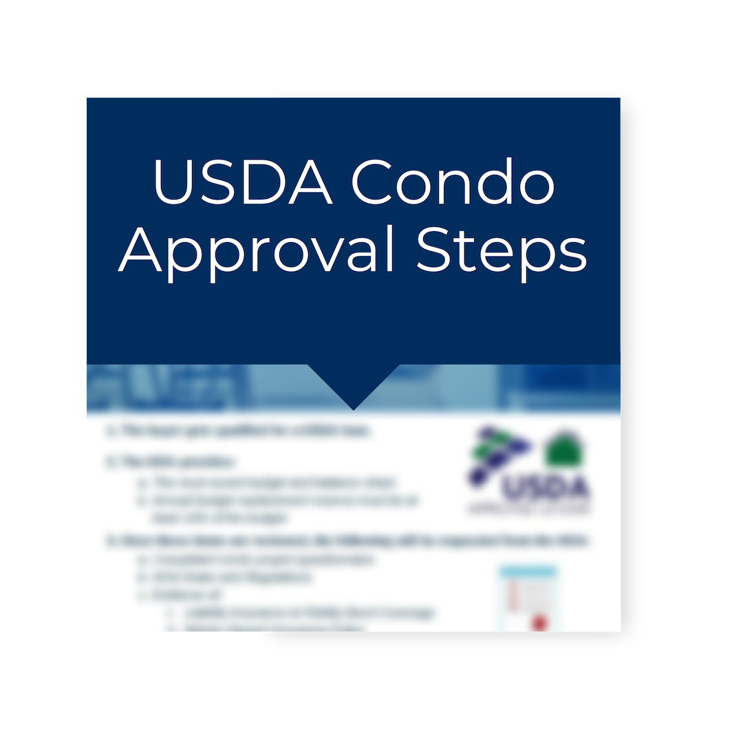 USDA loan for condo