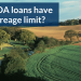 Do USDA loans have an acreage limit?