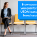 How soon can you qualify for a USDA loan after foreclosure?
