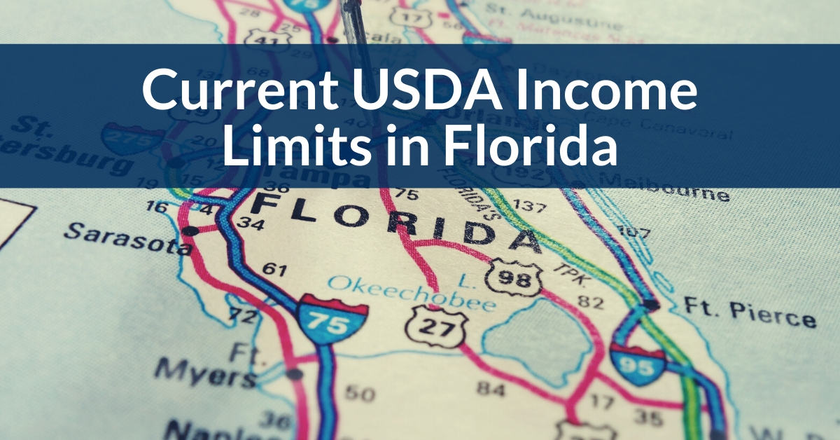 What are current USDA income limits in Florida?