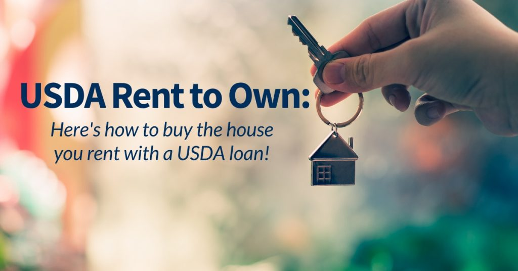 USDA Rent to Own: Here's How to Buy the House you Rent with a USDA Loan in FL, AL, TX, TN