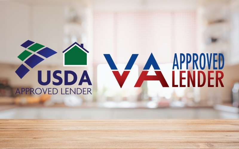 USDA and VA approved lender in Tampa Florida, Texas, Tennessee, or Alabama