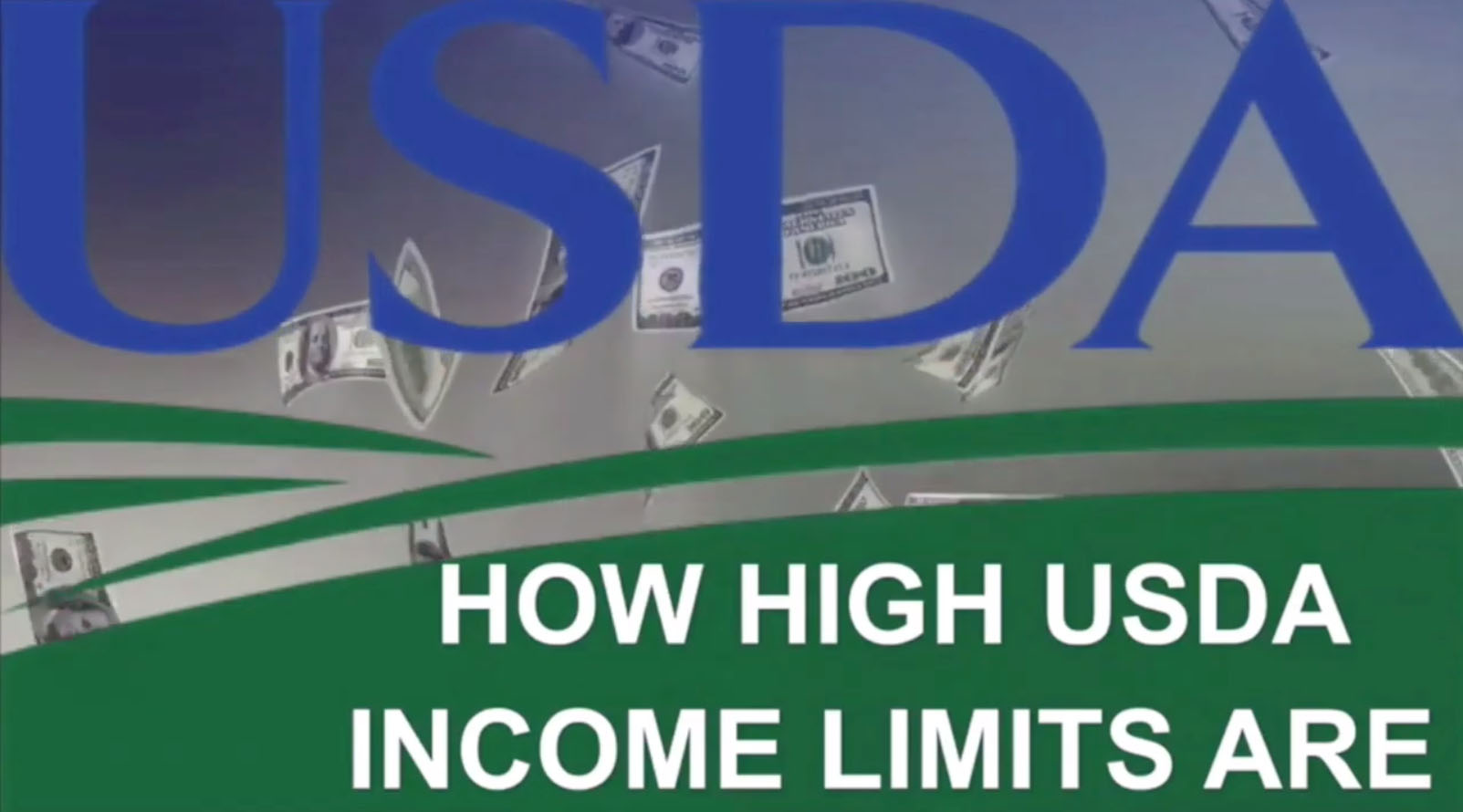 How high are current USDA Loan Income Limits?